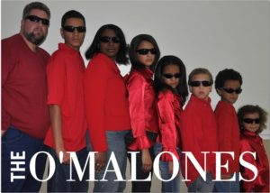 The O'Malones family portrait